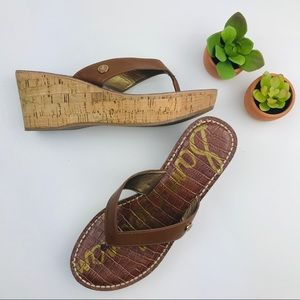 Sam Edelman Romy Cork Platform Sandal Size 7.5